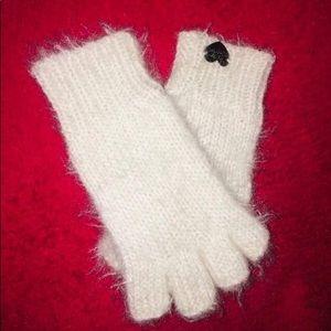 Betsey Johnson Fingerless Gloves